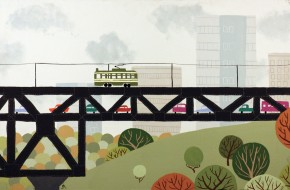EdmontonSeriesI-HighLevelBridge-Print