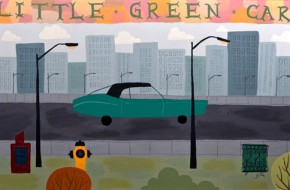 Miguelitos-Little-Green-Car-