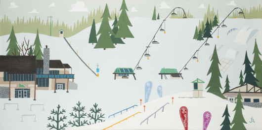 Snowvalley Commissioned Painting