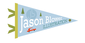 Jason Blower Illustration