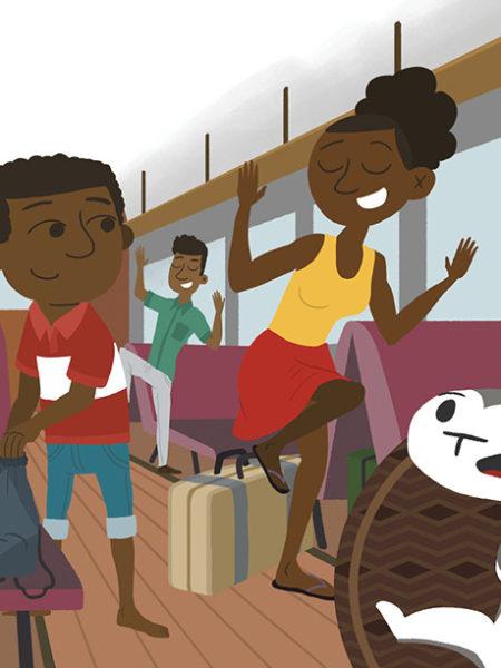 Grazing Train Ride